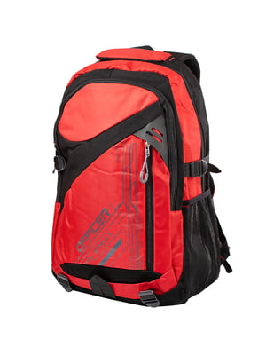 Рюкзак чорно-червоний   5285349