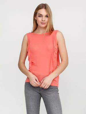Блуза коралловая | 5285363