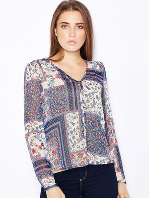 Блуза в цветочный принт | 5285491