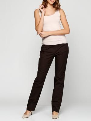 Штани коричневі | 5286297