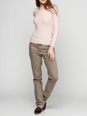 Штани коричневі | 5286298