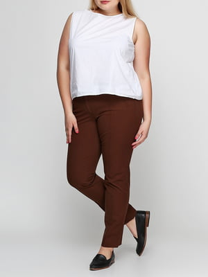 Штани коричневі | 5286378