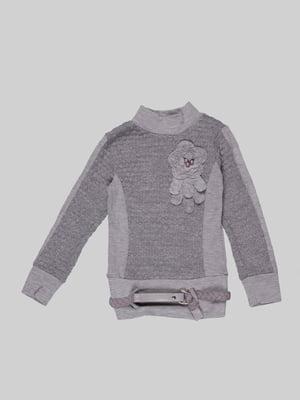 Джемпер серый | 5285765