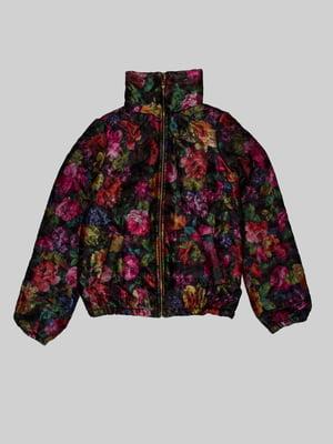 Куртка в квітковий принт | 5285835