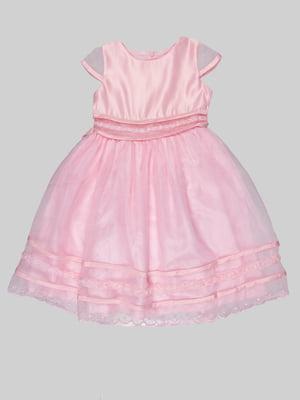 Платье розовое | 5285828