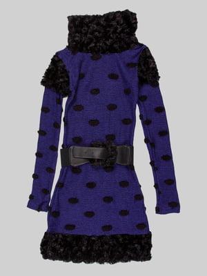 Сукня синьо-чорна | 5285894