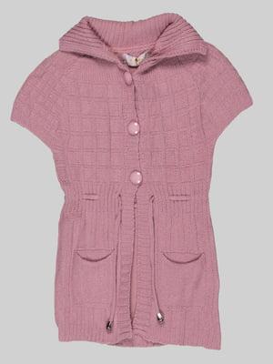 Кардиган блідо-рожевий | 5285904