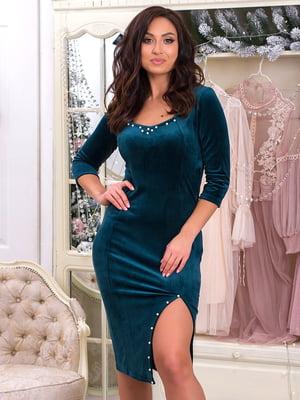 Платье зеленое | 5287239