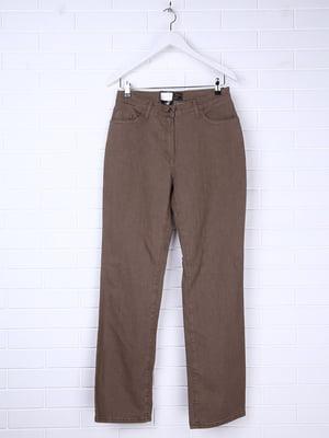 Джинси коричневі | 5286757
