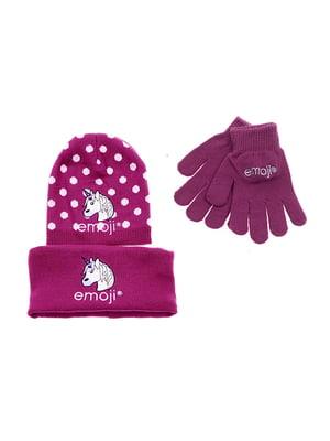 Комплект: шапка, шарф-снуд та рукавички   5288091