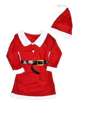 Комплект «Санта»: сорочка і шапка | 5288342