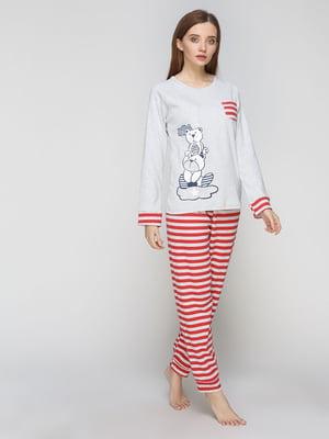 Піжама: лонгслів і штани | 5287561