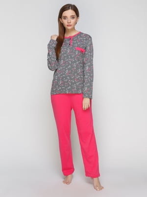 Піжама: лонгслів і штани   5287564