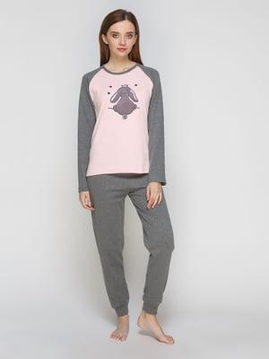 Пижама: лонгслив и брюки | 5287559