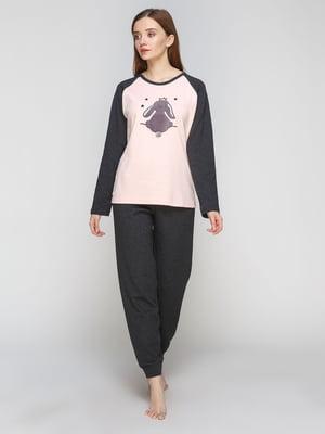 Піжама: лонгслів і штани | 5287560