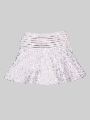 Спідниця сріблястого кольору | 1976643