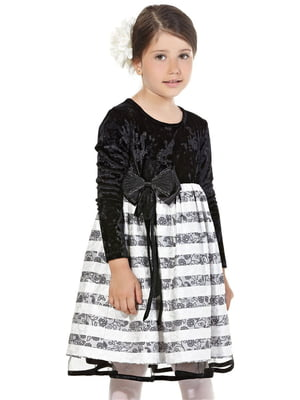 Сукня чорно-біла | 5281586