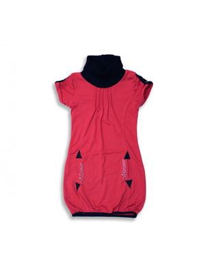 Туніка червоно-чорна | 5289633