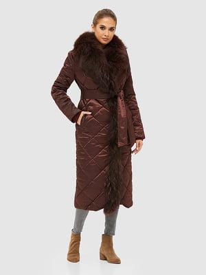 Пальто бордовое | 5289735