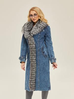Пальто синє | 5289745