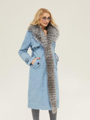Пальто блакитне | 5289747