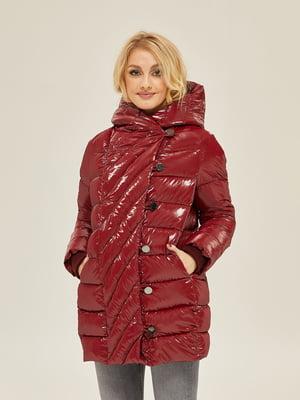 Куртка бордовая | 5289760