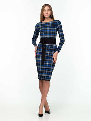 Платье клетчатое | 5289759