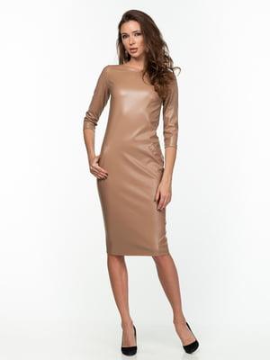 Платье бежевое   5289774