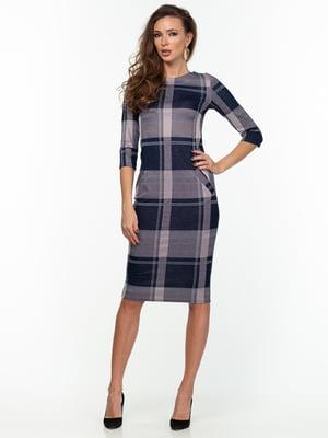 Платье клетчатое | 5289785