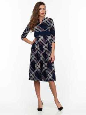 Платье клетчатое | 5289825