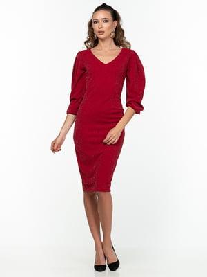 Сукня бордова   5289828
