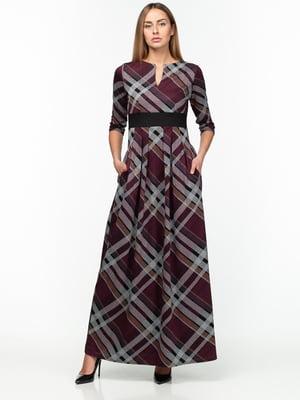 Платье клетчатое | 5289822