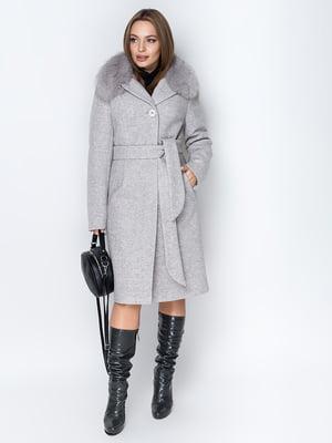 Пальто світло-сіре   5289851