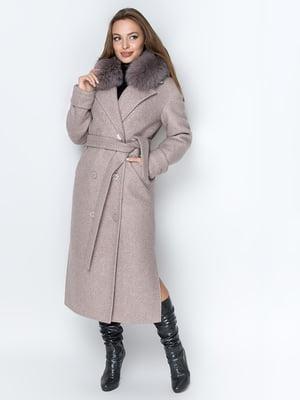 Пальто кольору мокко   5289855