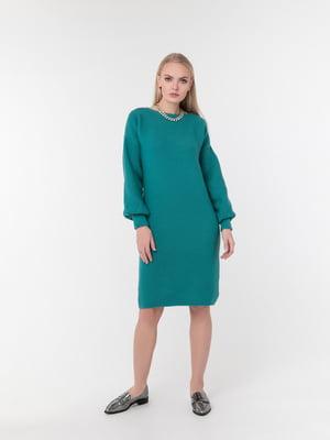 Платье зеленое | 5291317