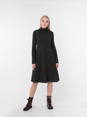 Сукня темно-сіра | 5291318