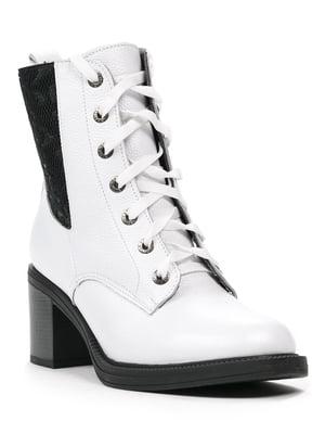 Черевики чорно-білі | 5284857