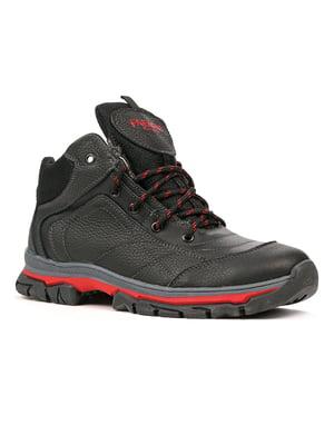 Ботинки черно-красные | 5291020
