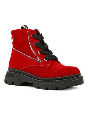 Черевики червоні | 5281450