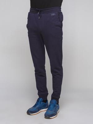 Штани спортивні темно-сині | 5288049