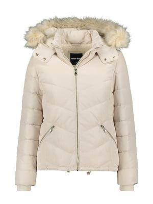 Куртка молочного цвета | 5287312