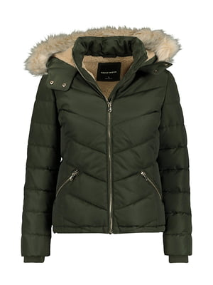 Куртка оливкового кольору | 5287313