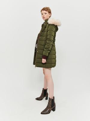 Куртка кольору хакі | 5287329