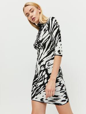 Сукня чорно-біла | 5287404
