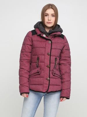 Куртка бордовая | 5292161
