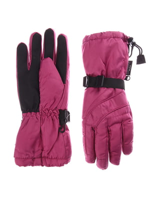 Перчатки лыжные розовые | 5292177