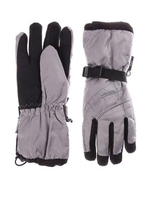 Перчатки лыжные серые | 5292178