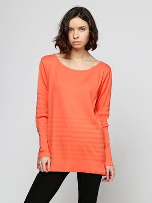 Лонгслив оранжевый | 5292224