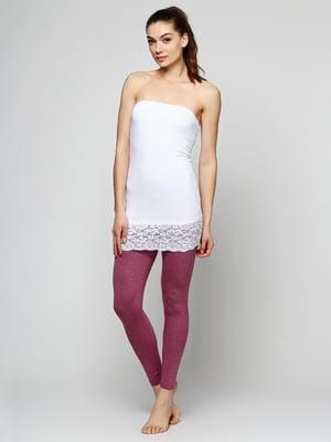 Легінси темно-рожеві | 5292237