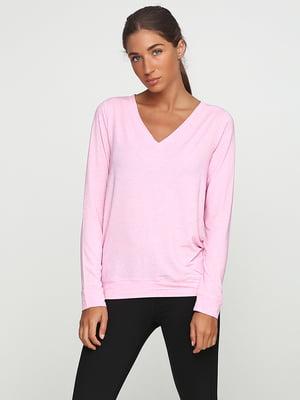 Лонгслив розовый | 5292347